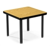 OFM End Table with 4 Legs, Oak