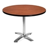 OFM 42 Round Flip-Top Multi-Purpose Table, Cherry