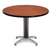 OFM 42 Round Mesh Base Multi-Purpose Table, Cherry