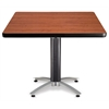 42 Square Mesh Base Multi-Purpose Table, Cherry