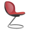 OFM NET Series Circular Base Chair, Red
