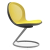 NET Series Circular Base Chair, Yellow
