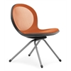 OFM NET Series 4-Legged Chair, Orange