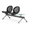 OFM NET Series 2 Seats & 1 Table Beam, Black