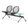 OFM NET Series 2 Seats & 1 Table Beam, Gray