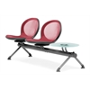 OFM NET Series 2 Seats & 1 Table Beam, Red