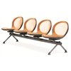 OFM NET Series 4 Seat Beam, Orange