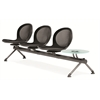 OFM NET Series 3 Seats & 1 Table Beam, Black