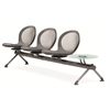 OFM NET Series 3 Seats & 1 Table Beam, Gray
