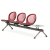OFM NET Series 3 Seats & 1 Table Beam, Red