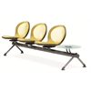 OFM NET Series 3 Seats & 1 Table Beam, Yellow
