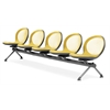 OFM NET Series 5 Seat Beam, Yellow