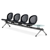 OFM NET Series 4 Seats & 1 Table Beam, Black