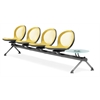 OFM NET Series 4 Seats & 1 Table Beam, Yellow