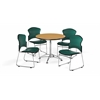 PKG - BREAK ROOM - KLT36RD-OAK / 310-VAM-602