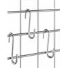 S-Hook Connectors for Wire Shelving