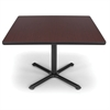 OFM 42 Square Multi-Purpose Table, Mahogany