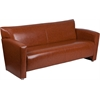 HERCULES Majesty Series Cognac Leather Sofa