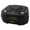 Jensen Top Loading AM/FM PLL Stereo CD Dual Alarm Clock Radio