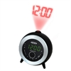 FM Clock Radio with Time Projection