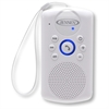 Jensen Bluetooth Wireless Water Resistant Shower Radio Speaker