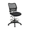 Office Star Deluxe Ergonomic AirGrid® Back Drafting Chair with Mesh Seat