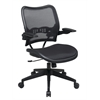 Office Star Deluxe AirGrid® Seat and Back Chair with Cantilever Arms