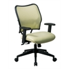 Office Star Deluxe Chair with Kiwi VeraFlex®  Back and VeraFlex®  Fabric Seat