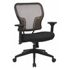 Office Star Latte Air Grid® Back and Padded Mesh Seat Chair with 2-to-1 Synchro Tilt Control