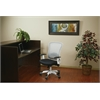 Office Star White Frame Managers Chair (Black)