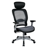 Office Star Professional Light Air Grid® Back and Seat Chair with Headrest