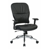 Office Star Black Bonded Leather Managers Chair