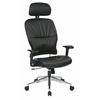 Office Star Black Eco, Leather Managers Chair.