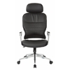 Bonded Leather Managers Chair w/ Headrest