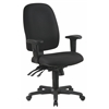 Office Star Ergonomics Chair with Ratchet Back and Adjustable Soft Padded Arms