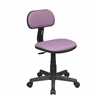 Office Star Task Chair in Purple Fabric