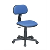 Office Star Task Chair in Blue Fabric