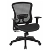 Office Star CHX Dark Breathable Mesh Seat and Back Managers Chair