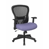 Deluxe R2 SpaceGrid Back Chair with Memory Foam Mesh Seat Chair