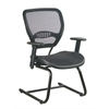 Office Star AirGrid® Seat and Back Deluxe Visitors Chair