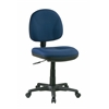 Office Star Sculptured Icon Navy Task Chair with Out Arms