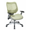 Unique Self Adjusting Kiwi SpaceFlex Back Managers Chair