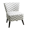 Office Star Apollo Chair in Zig Zag Grey
