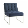"Anthony 26"" Wide Chair with Chrome Base"