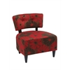 Office Star Boulevard Chair in Groovy Red