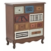 Hunter Hall Chest In Vintage Multi-Color Finish
