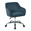 Office Star Bristol Task Chair with Atlantic Velvet Fabric