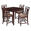 Office Star Brentwood 5 Piece Dining Set (Cherry)