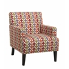 Office Star Carrington Arm Chair in Flair Confetti