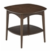 Copenhagen Accent Table in Walnut Finish